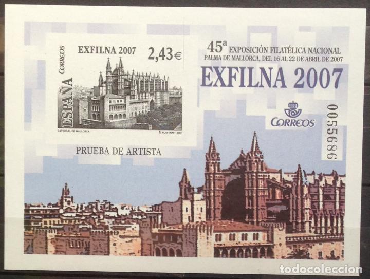 ESPAÑA SPAIN PRUEBA DE ARTISTA 94 2007 NUEVO MNH MALLORCA (Sellos - España - Pruebas y Minipliegos)