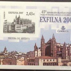 Sellos: ESPAÑA SPAIN PRUEBA DE ARTISTA 94 2007 NUEVO MNH MALLORCA. Lote 144556378