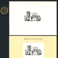 Sellos: ESPAÑA, HOJAS RECUERDO, HOMENAJE DOCTOR THEBUSSEM, 1973. Lote 145197246