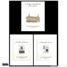 Sellos: ESPAÑA 1977. HOJA RECUERDO 49/50. X FERIA NACIONAL DEL SELLO -CARPETA OFICIAL- PERFECTAS NUEVO** MNH. Lote 50175958
