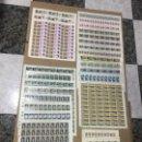 Sellos: LOTE DE 52 PLIEGOS DE SELLOS AÑOS 1977 Y 1978 . Lote 148191442