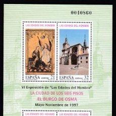 Sellos: EDIFIL. PRUEBA DE LUJO 1997. Nº 63. LAS EDADES DEL HOMBRE.. Lote 151220714