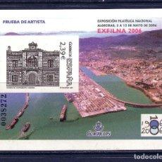 Sellos: R/19281, PRUEBA OFICIAL Nº 92 DE ESPAÑA -EXFILNA 2006, ALGECIRAS, CÁDIZ-, EN PERFECTO ESTADO. Lote 151603566