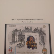 Sellos: ESPAÑA PRUEBA DE LUJO 29 EXFILNA 93 PRUEBA DE ARTISTA . Lote 158518766