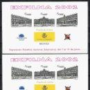 Sellos: ESPAÑA, PRUEBA OFICIAL Nº 78, EXPOSICIÓN FILATÉLICA NACIONAL, 2002, SALAMANCA. Lote 160348270