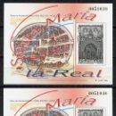 Sellos: ESPAÑA, PRUEBA OFICIAL Nº 73, IGLESIA DE SANTA MARÍA LA REAL, 2000, BURGOS. Lote 160352390