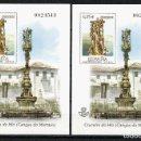 Sellos: ESPAÑA, PRUEBA OFICIAL Nº 79, CRUCEIRO DO HÍO, 2002, PONTEVEDRA. Lote 160353642