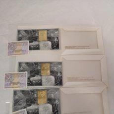 Sellos: LOTE 3 PRUEBAS DE ARTISTA IV CENTENARIO FALLECIMIENTO DEL GRECO. EFEMÉRIDES 2014. SELLO ORO.. Lote 161446198