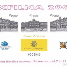 Sellos: Nº 78 PRUEBA DE LUJO DE EXFILNA 2002 SALAMANCA. Lote 165519730