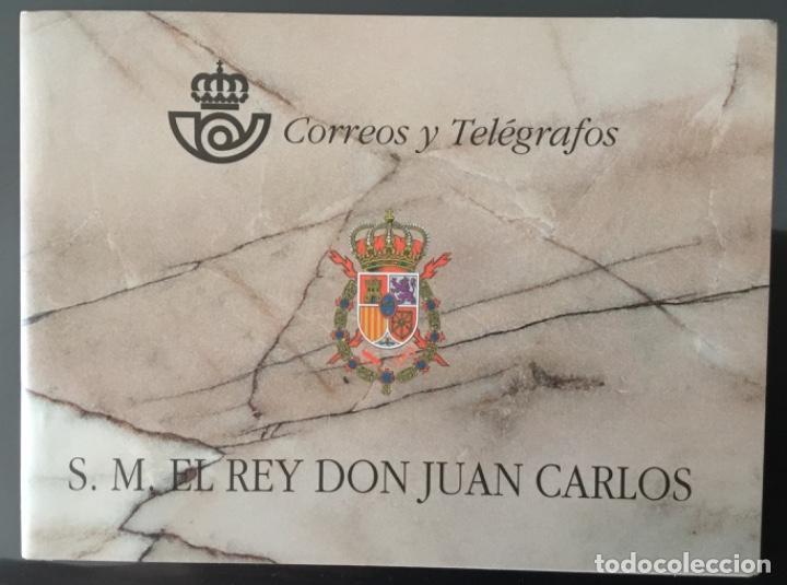 1998-ESPAÑA II CENTENARIO EDIFIL 3544C MNH** CARNET DEL REY 1998 COMPLETO (Sellos - España - Pruebas y Minipliegos)