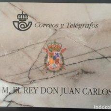 Sellos: 1998-ESPAÑA II CENTENARIO EDIFIL 3544C MNH** CARNET DEL REY 1998 COMPLETO. Lote 183363915