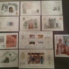 Stamps - Lote de 11 pruebas de color, artista, lujo ,... - 168000534
