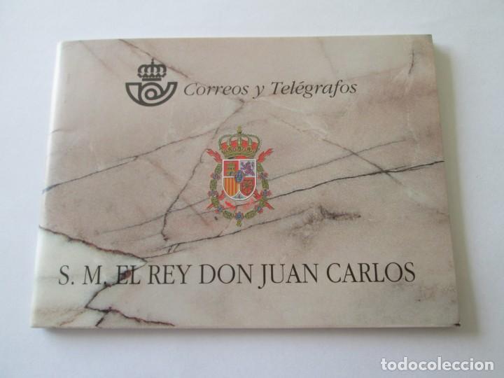 CARNÉ S.M. EL REY DON JUAN CARLOS 1998 (Sellos - España - Pruebas y Minipliegos)
