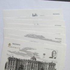 Sellos: PRUEBAS * 150 ANIVERSARIO DEL PRIMER SELLO ESPAÑOL . Lote 168126492