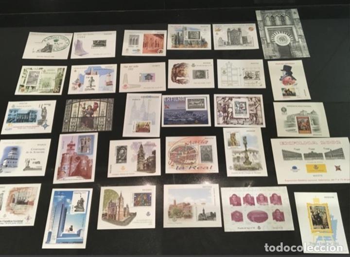 1989/2010-ESPAÑA LOTE DE 30 PRUEBAS OFICIALES DE LUJO VC: 488 € (Sellos - España - Pruebas y Minipliegos)