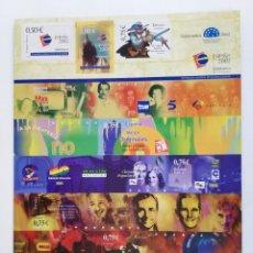 Sellos: PLIEGO DE SALAMANCA CIUDAD EUROPEA 2002. Lote 172142022