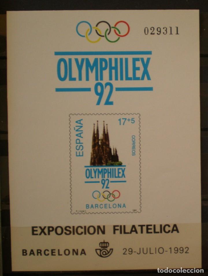 ESPAÑA PRUEBA OFICIAL - EDIFIL Nº 26.- OLIMPHILX BARCELONA 92 (Sellos - España - Pruebas y Minipliegos)