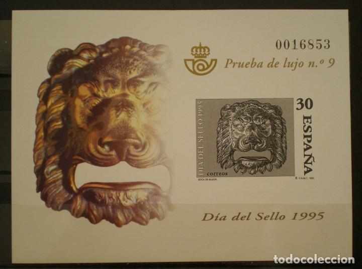 ESPAÑA PRUEBA OFICIAL - EDIFIL Nº 34.- DIA DEL SELLO 1995 (Sellos - España - Pruebas y Minipliegos)