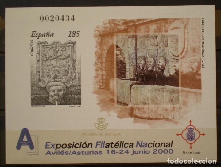 ESPAÑA - PRUEBA OFICIAL - EDIFIL Nº 72 - EXFILNA 2000 (Sellos - España - Pruebas y Minipliegos)