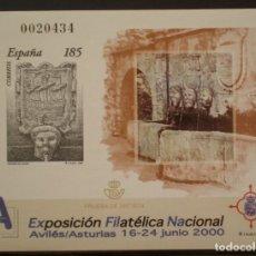 Sellos: ESPAÑA - PRUEBA OFICIAL - EDIFIL Nº 72 - EXFILNA 2000. Lote 172867879