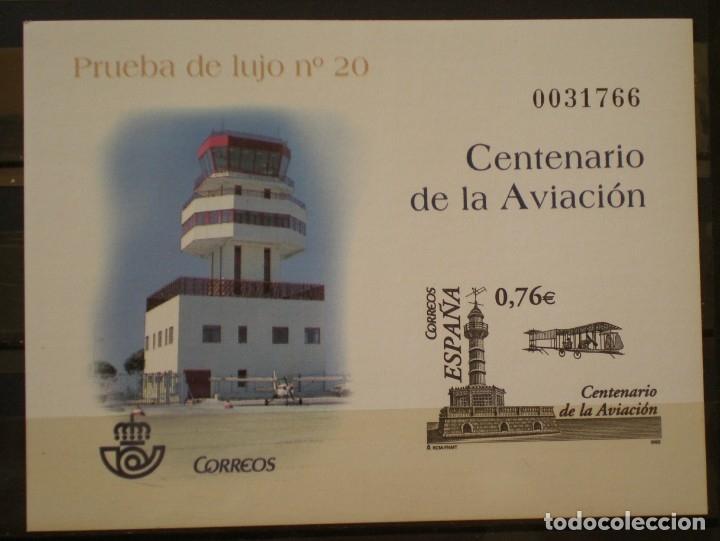ESPAÑA - PRUEBA OFICIAL - EDIFIL Nº 82 - CENTENARIO DE LA AVIACION (Sellos - España - Pruebas y Minipliegos)