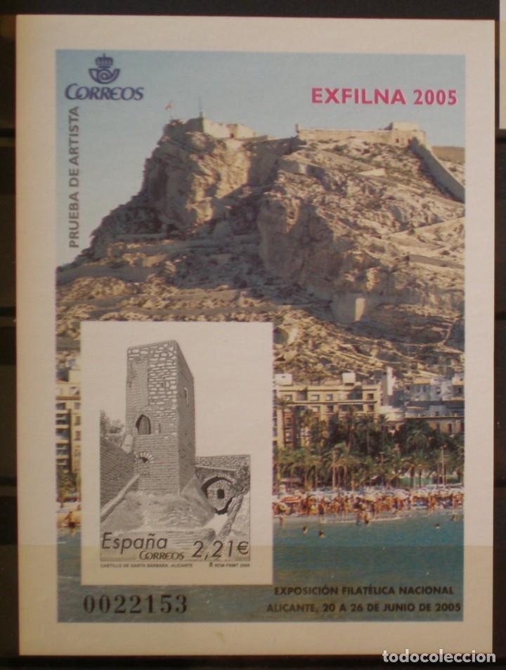 ESPAÑA - PRUEBA OFICIAL - EDIFIL Nº 90 - EXFILNA 2005 - ALICANTE (Sellos - España - Pruebas y Minipliegos)