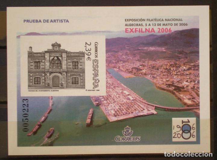 ESPAÑA - PRUEBA OFICIAL - EDIFIL Nº 92 - EXFILNA 2006 - ALGECIRA (Sellos - España - Pruebas y Minipliegos)