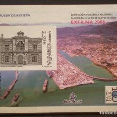 Sellos: ESPAÑA - PRUEBA OFICIAL - EDIFIL Nº 92 - EXFILNA 2006 - ALGECIRA. Lote 180888081