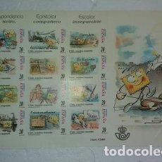 Sellos: ESPAÑA 1999. EDIFIL CORRESPONDENCIA EPISTOLAR ESCOLAR NUEVOS SIN USO. Lote 173108202