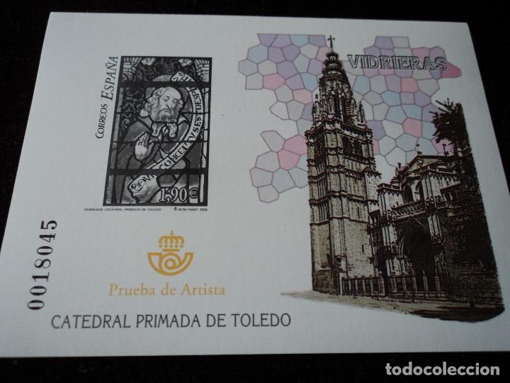 PRUEBA OFICIAL - EDIFIL Nº 85 - VIDRIERA CATEDRAL DE TOLEDO (Sellos - España - Pruebas y Minipliegos)
