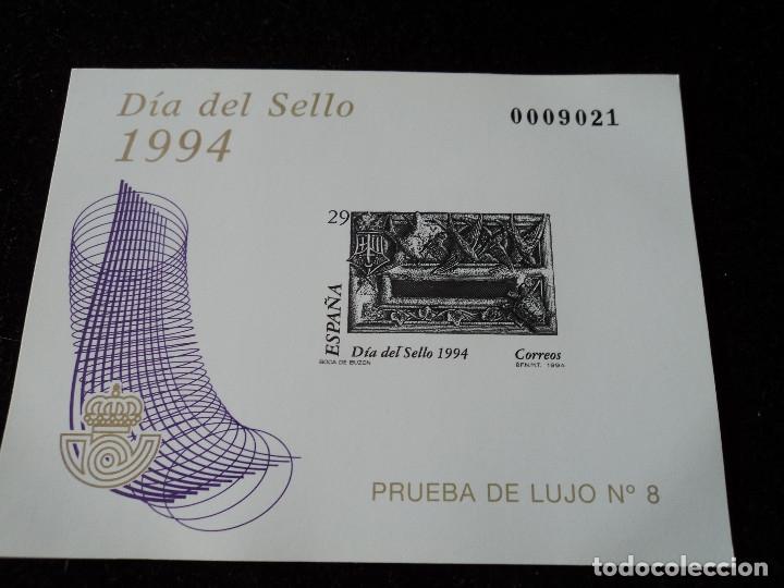 ESPAÑA 1994, PRUEBA LUJO 8. DÍA DEL SELLO. NUEVO** MNH (Sellos - España - Pruebas y Minipliegos)