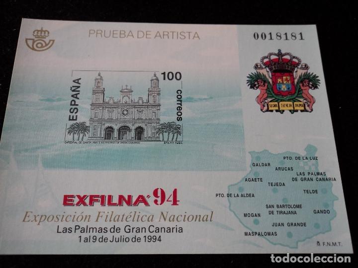 PRUEBA OFICIAL NÚMERO 33 EXFILNA 94 (Sellos - España - Pruebas y Minipliegos)