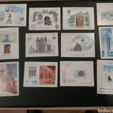 Sellos: LOTE DE 12 PRUEBAS DE LUJO, COLOR, DE ARTISTA, ...... Lote 178632050