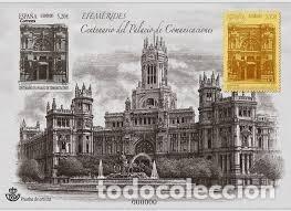 2019 PALACIO COMUNICACIONES COMMUNICATIONS PRUEBA OFICIAL PROOF ** (Sellos - España - Pruebas y Minipliegos)