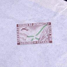 Sellos: AEROGRAMA SOBRE POR AVION GOBIERNO DE EUZKADI. Lote 179143463