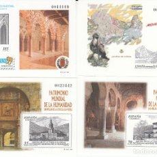 Timbres: 1999 PRUEBAS NUMS. 68-69-70-71 EXFILNA 99 EUROPA - SAN MILLAN . Lote 181074353