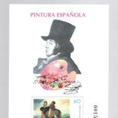 Sellos: PRUEBA (1996): PINTURA ESPAÑOLA - FRANCISCO DE GOYA. Lote 183465713