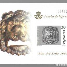 Sellos: PRUEBA DE LUJO Nº 9 (1995): DÍA DEL SELLO 1995 - BOCA DE BUZÓN. Lote 183469321