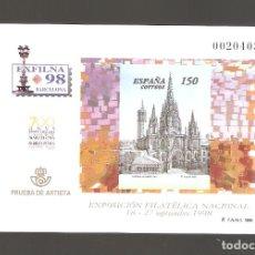 Sellos: 1 SELLO DE PRUEBA AÑO 1998 NUM. 66. Lote 183667060
