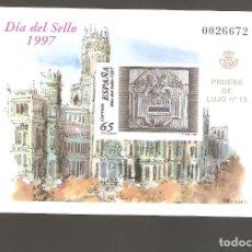 Sellos: 1 SELLO DE PRUEBA AÑO 1997 NUM. 62. Lote 183667586