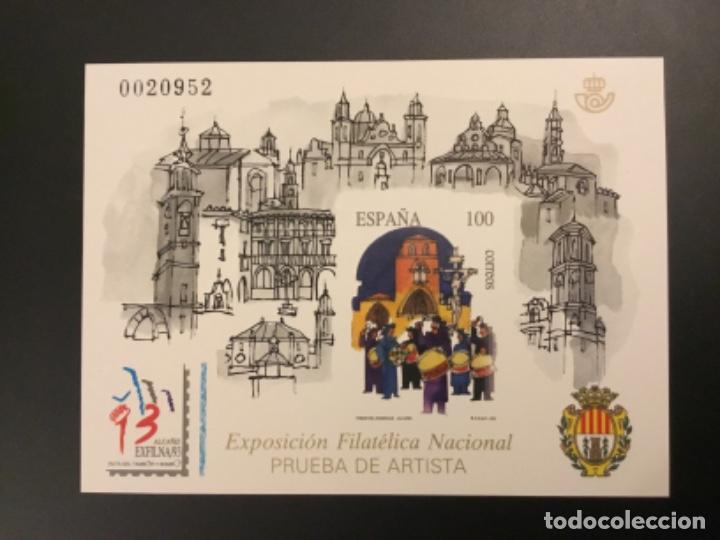 1993-ESPAÑA PRUEBA OFICIAL 29. EXPOSICIÓN FILATÉLICA NACINAL - ALCAÑIZ - (Sellos - España - Pruebas y Minipliegos)