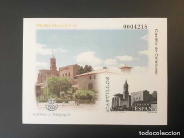 2002-ESPAÑA PRUEBA OFICIAL 77 CASTILLO DE CALATORAO -ZARAGOZA - (Sellos - España - Pruebas y Minipliegos)