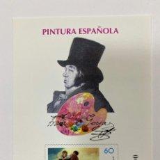 Sellos: PRUEBA DE COLOR. ESPAÑA 1996. PINTURA ESPAÑOLA. FRANCISCO DE GOYA. NUEVO. Lote 189816531