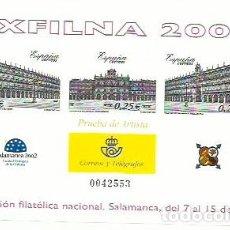 Sellos: ESPAÑA - PRUEBAS OFICIALES - PRUEBA DEL ARTISTA - 2002 - EDIFIL 78. Lote 190377548