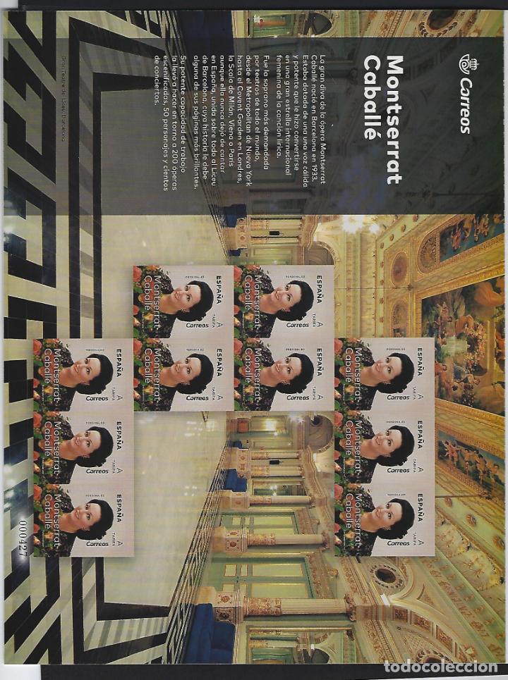 Sellos: MP 77 PREMIUN 5320 MINIPLIEGO MONTSERRAT CABALLE 2019 NUEVO BUEN ESTADO - Foto 2 - 190695943