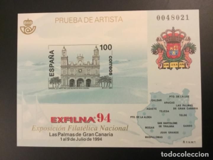 1994-ESPAÑA PRUEBA OFICIAL Nº 33 EXFILNA `94. (Sellos - España - Pruebas y Minipliegos)