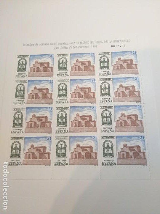 Sellos: MINIPLIEGOS ESPAÑA 1997. EDIFIL Nº 57/58. PATRIMONIO MUNDIAL DE LA HUMANIDAD. MISMO NUMERO - Foto 2 - 194160092