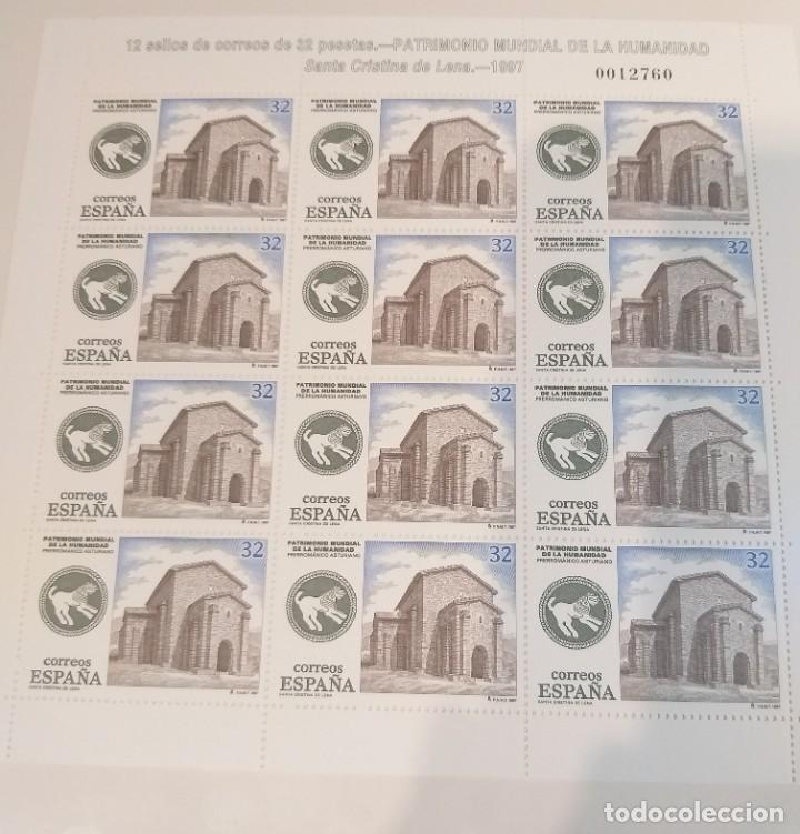 Sellos: MINIPLIEGOS ESPAÑA 1997. EDIFIL Nº 57/58. PATRIMONIO MUNDIAL DE LA HUMANIDAD. MISMO NUMERO - Foto 3 - 194160092