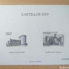 Sellos: PRUEBA CALCOGRÁFICA 2009 PRUEBA ESPECIAL DE SELLOS CATEDRALES. Lote 194261528