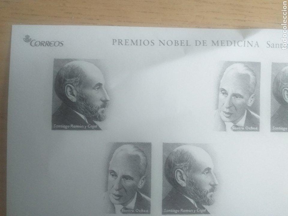 Sellos: SELLOS HOJA PRUEBA 2004 DE LOS PREMIOS NOBEL DE MEDICINA SANTIAGO RAMON Y CAJAL Y SEVERO OCHOA - Foto 2 - 194282687